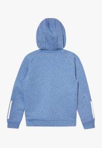 adidas Performance - Zip-up hoodie - blue melange - 1