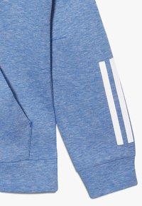 adidas Performance - Zip-up hoodie - blue melange - 4