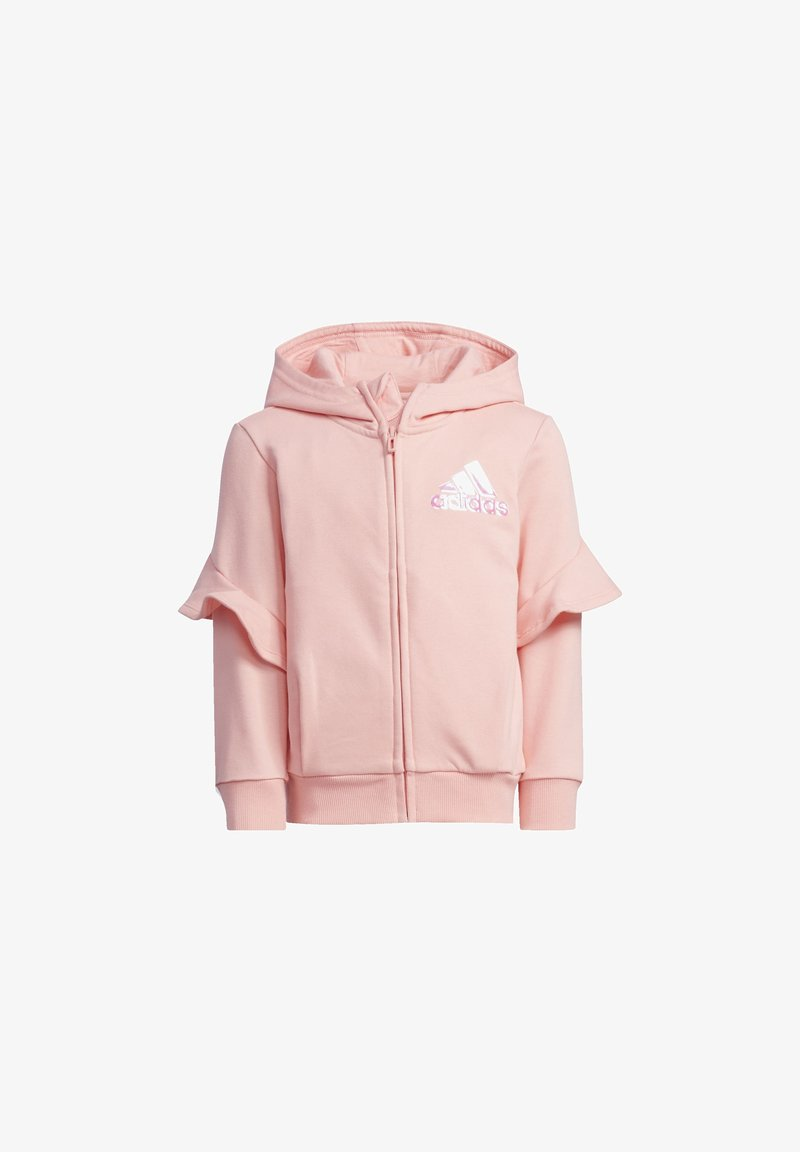 adidas Performance - STYLE FRENCH TERRY HOODIE - Zip-up hoodie - glory pink