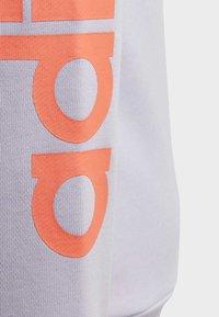 adidas Performance - LINEAR HOODIE - veste en sweat zippée - purple tint - 4