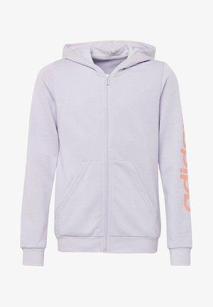 LINEAR HOODIE - veste en sweat zippée - purple tint