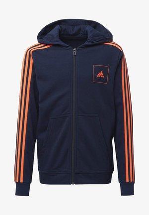 ADIDAS ATHLETICS CLUB HOODIE - Zip-up hoodie - blue