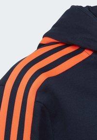 adidas Performance - ADIDAS ATHLETICS CLUB HOODIE - Zip-up hoodie - blue - 2