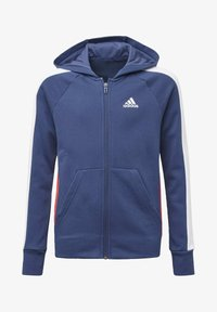 adidas Performance - ADIDAS ATHLETICS CLUB  HOODIE - veste en sweat zippée - blue - 0