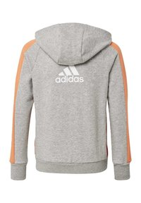 adidas Performance - ATHLETICS CLUB  HOODIE - Felpa aperta - grey - 1
