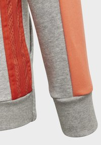 adidas Performance - ATHLETICS CLUB  HOODIE - Felpa aperta - grey - 4