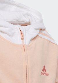 adidas Performance - BRANDED KNIT JACKET - Zip-up hoodie - pink - 4