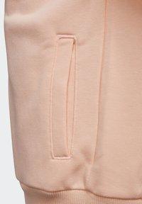 adidas Performance - BRANDED KNIT JACKET - Zip-up hoodie - pink - 5