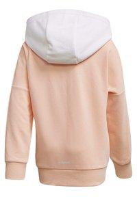 adidas Performance - BRANDED KNIT JACKET - Zip-up hoodie - pink - 3