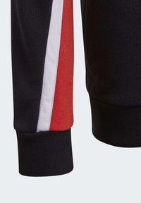 adidas Performance - BOLD FULL-ZIP HOODIE - Zip-up hoodie - black - 5
