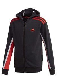 adidas Performance - BOLD FULL-ZIP HOODIE - Zip-up hoodie - black - 2
