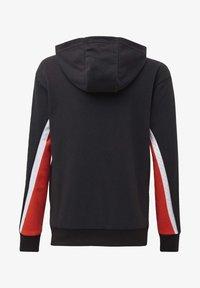 adidas Performance - BOLD FULL-ZIP HOODIE - Zip-up hoodie - black - 1