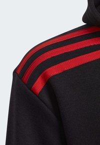 adidas Performance - BOLD FULL-ZIP HOODIE - Zip-up hoodie - black - 4