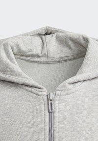 adidas Performance - LINEAR HOODIE - Felpa aperta - grey - 2