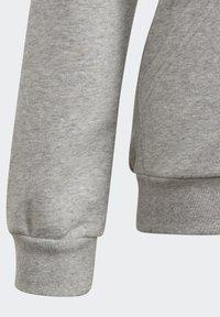 adidas Performance - LINEAR HOODIE - Felpa aperta - grey - 4