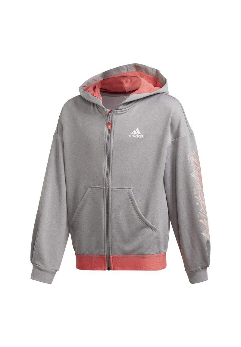 adidas Performance - UP2MV AEROREADY LOOSE HOODIE - Zip-up hoodie - grey