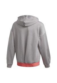 adidas Performance - UP2MV AEROREADY LOOSE HOODIE - Zip-up hoodie - grey - 3