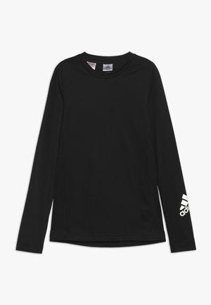 T-shirt sportiva - black/silver