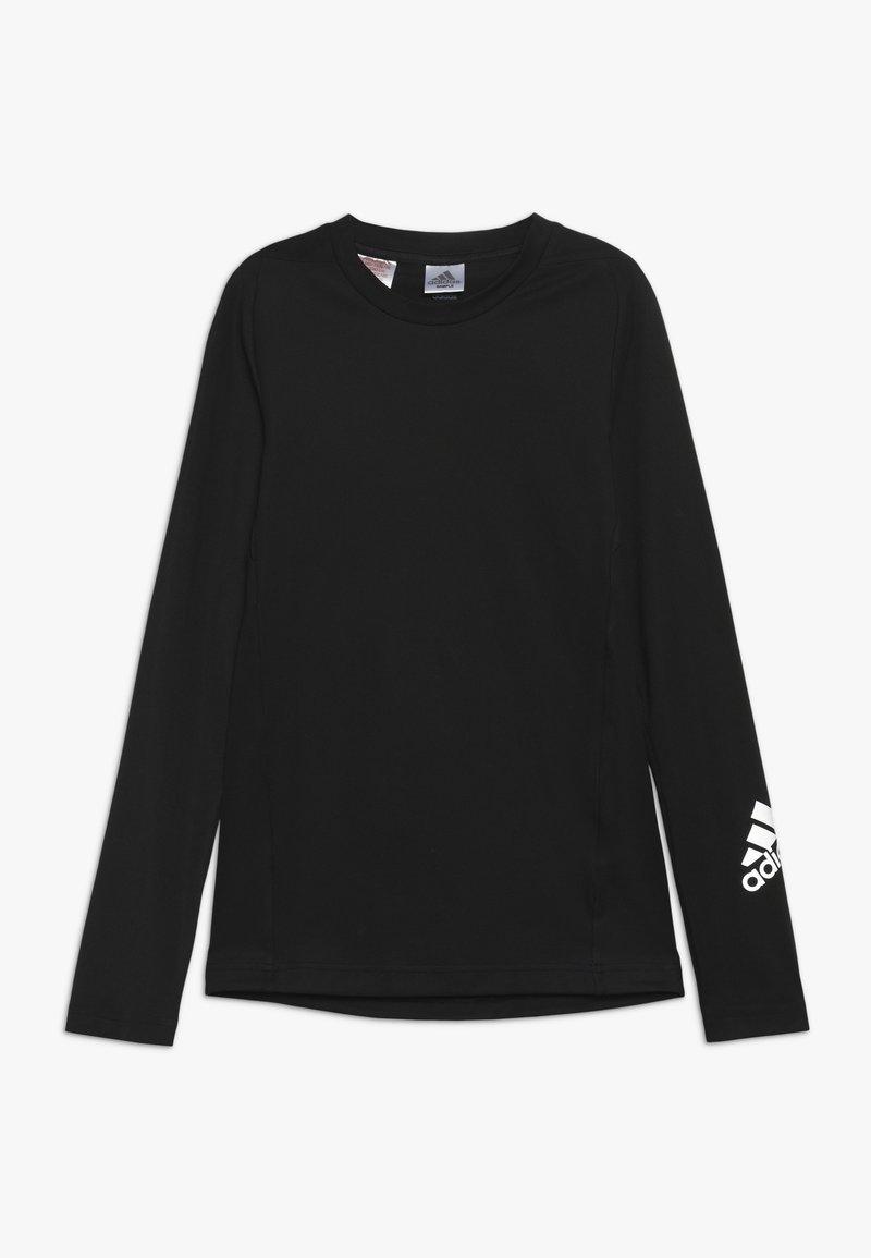 adidas Performance - Sportshirt - black/silver