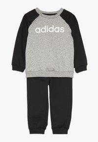 adidas Performance - I LIN JOGG - Survêtement - medium grey heather/black/white - 0