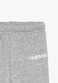 adidas Performance - I LIN JOGG - Survêtement - pink/mottled grey/white - 6