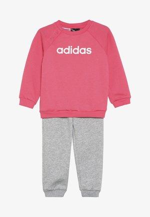 I LIN JOGG - Trainingspak - pink/mottled grey/white