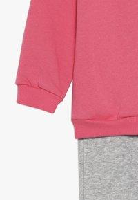 adidas Performance - I LIN JOGG - Trainingspak - pink/mottled grey/white - 3