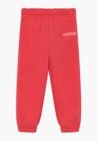 adidas Performance - ESSENTIALS LINEAR TRACKSUIT BABY SET - Survêtement - pink/light pink - 2