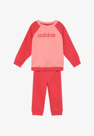 ESSENTIALS LINEAR TRACKSUIT BABY SET - Chándal - pink/light pink