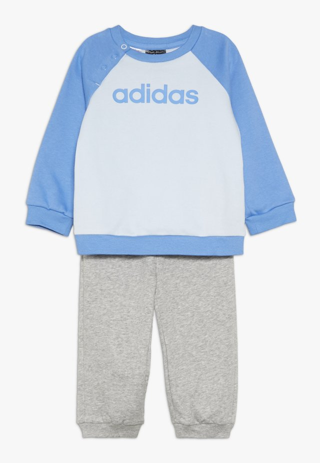 ESSENTIALS LINEAR TRACKSUIT BABY SET - Tracksuit - skytin/lucblu/mgreyh