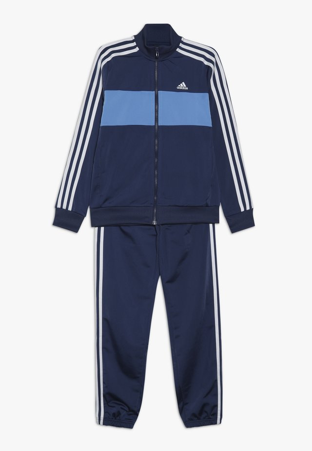 TIBERIO SET - Tracksuit - blue/light blue/white