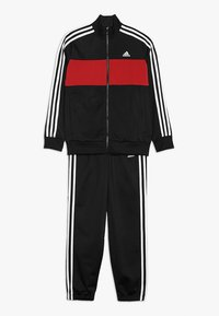 adidas Performance - TIBERIO SET - Træningssæt - black/actmar/white - 0