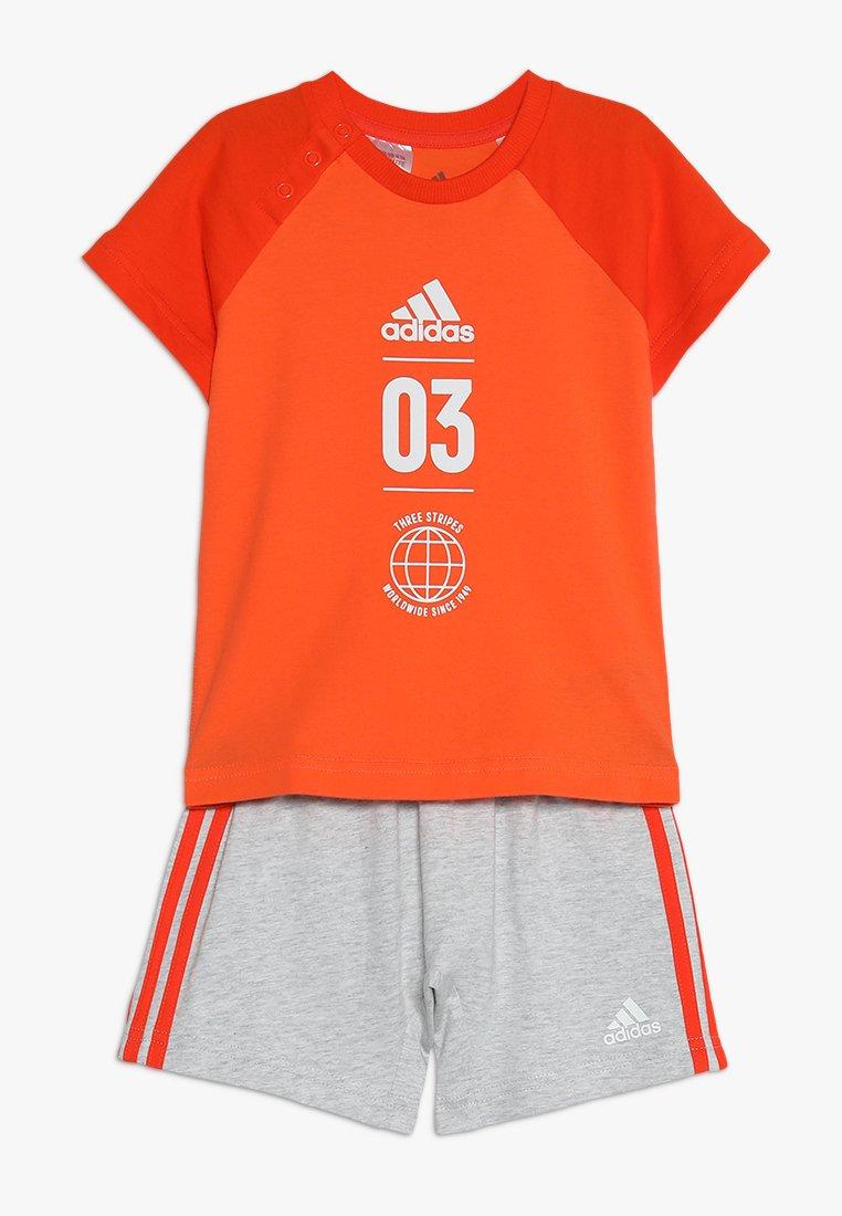 adidas Performance - LOGO SET - Chándal - true orange/active orange/white