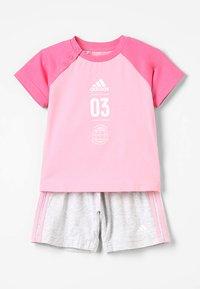 adidas Performance - LOGO SET - Trainingsanzug - rose - 0