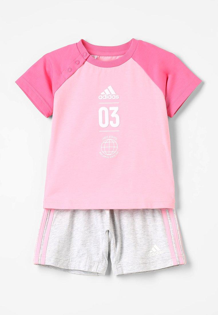 adidas Performance - LOGO SET - Trainingsanzug - rose