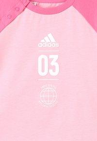 adidas Performance - LOGO SET - Trainingsanzug - rose - 7