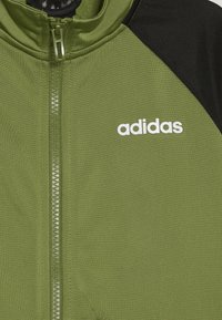adidas Performance - ENTRY SET - Trainingsanzug - tech olive/black - 4