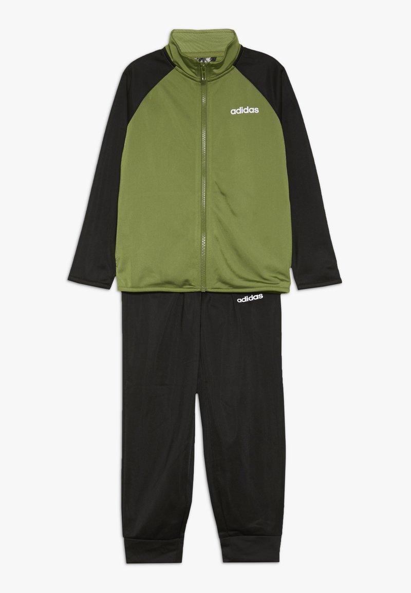 adidas Performance - ENTRY SET - Trainingsanzug - tech olive/black