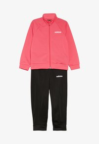 adidas Performance - ENTRY SET - Tracksuit - real pink/white/black - 4