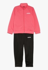 adidas Performance - ENTRY SET - Tracksuit - real pink/white/black - 0