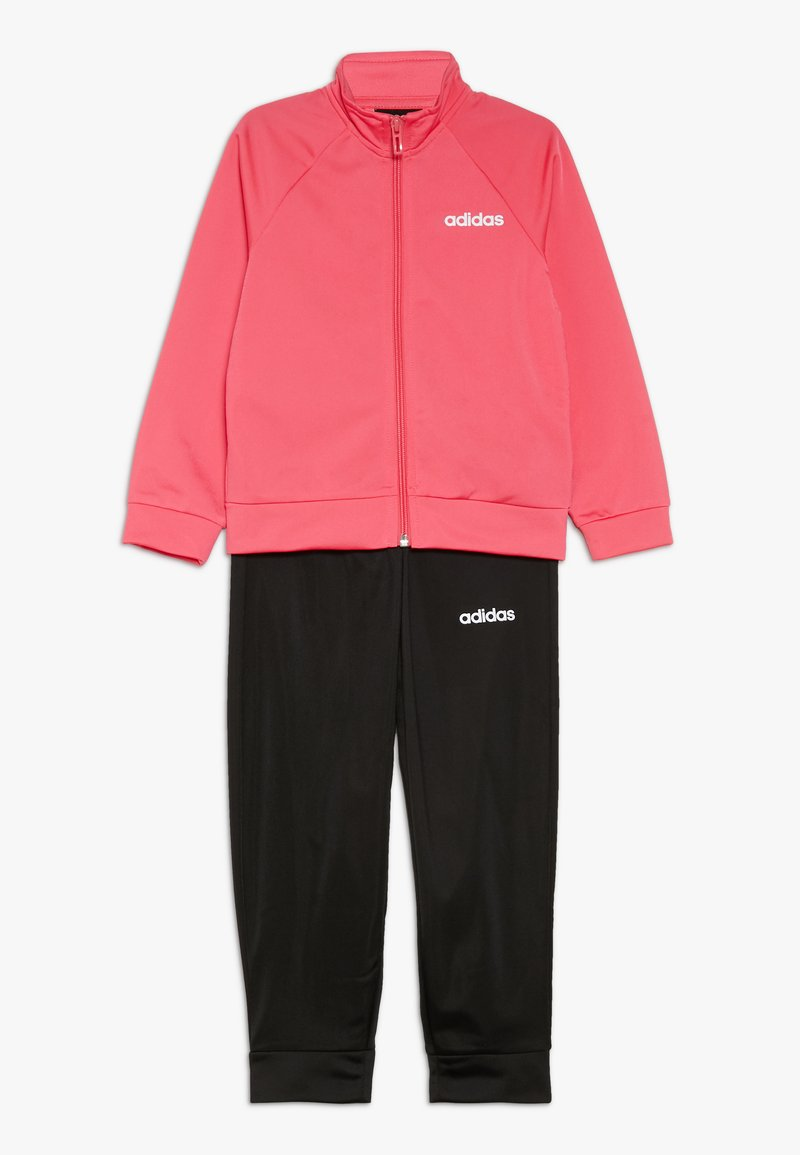 adidas Performance - ENTRY SET - Tracksuit - real pink/white/black