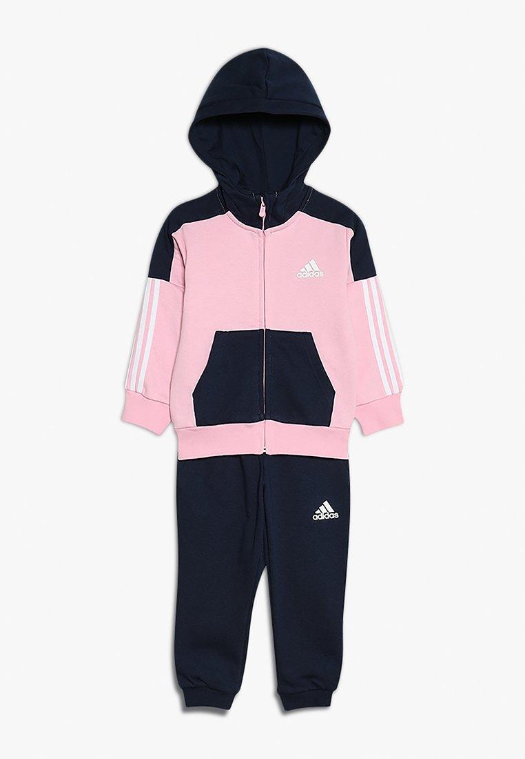 adidas Performance - TRACKSUIT - Træningssæt - true pink/collegiate navy