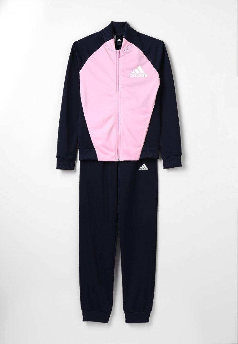adidas Performance - Trainingsanzug - legned ink/true pink/white
