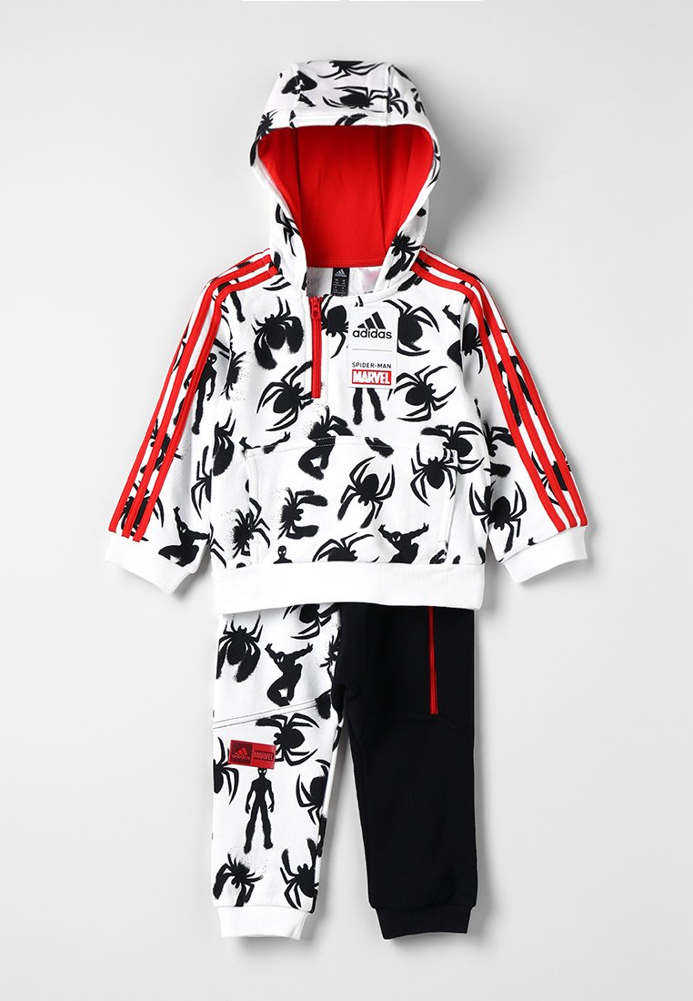 adidas Performance - Trainingspak - white/black/red