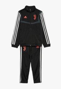adidas Performance - JUVENTUS TURIN SUIT - Fanartikel - black - 0