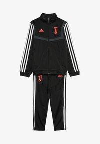 adidas Performance - JUVENTUS TURIN SUIT - Fanartikel - black - 5
