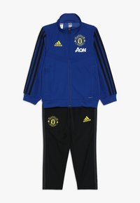 adidas Performance - MANCHESTER UNITED FC SUIT - Fanartikel - blue - 0