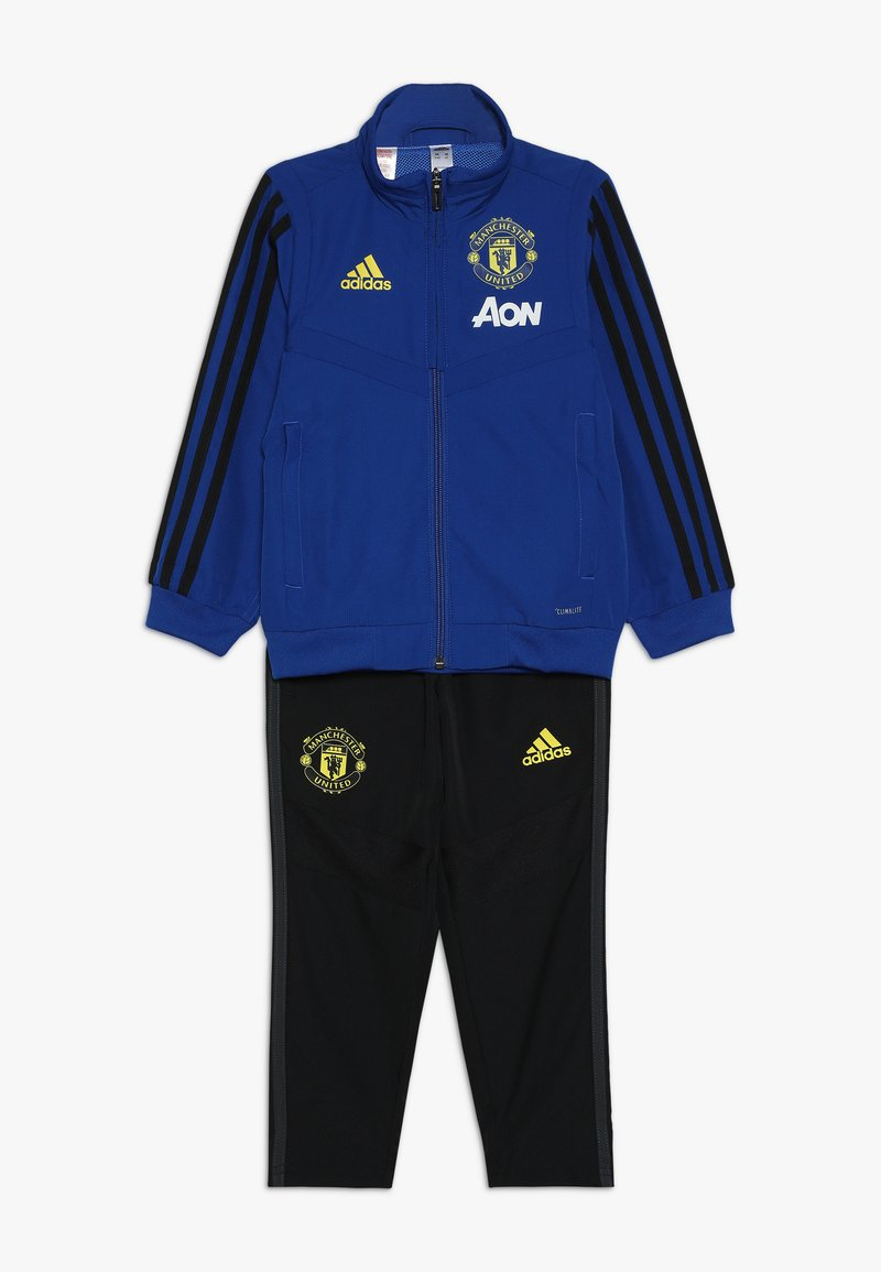 adidas Performance - MANCHESTER UNITED FC SUIT - Fanartikel - blue