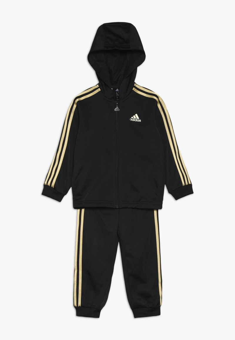 adidas Performance - SHINY  - Trainingsanzug - black/gold