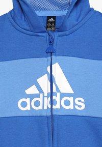 adidas Performance - Træningssæt - blue/white - 5